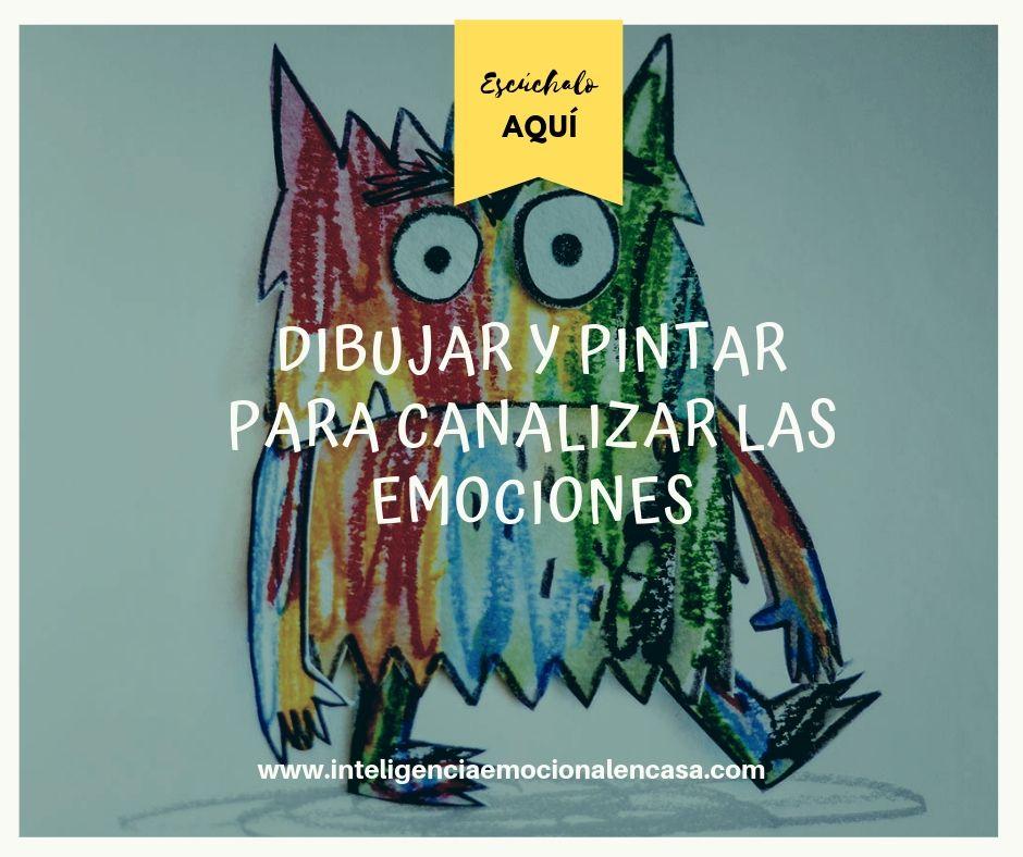Dibujar Y Pintar Para Canalizar Las Emociones En Niños Entre